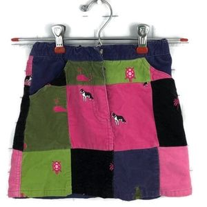 LILLY PULITZER Corduroy Patchwork Skirt 7